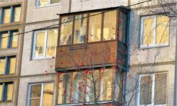 Остекление балкона брежневка. - мои статьи - каталог статей .